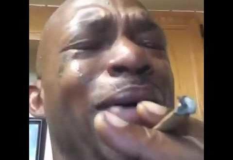 the crying stoner