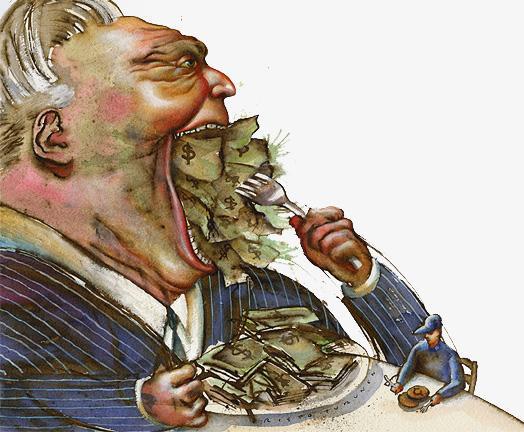 Greedy Corporations
