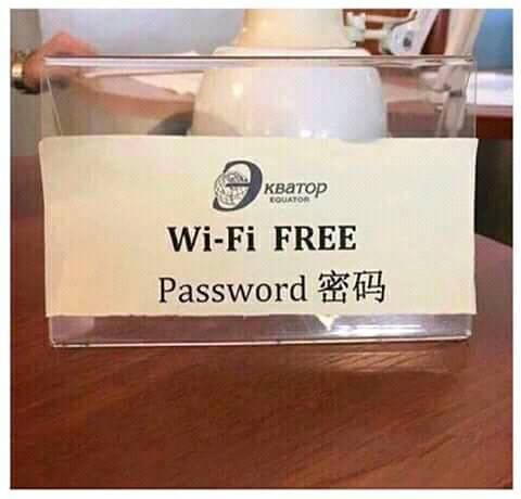 Free Wi-Fi- Meme