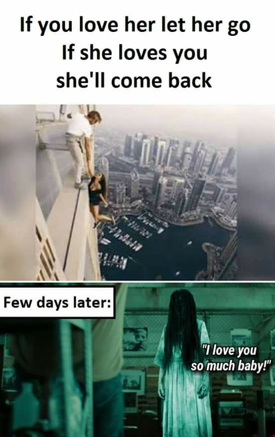 If You Love Her, Let Her Go- Meme