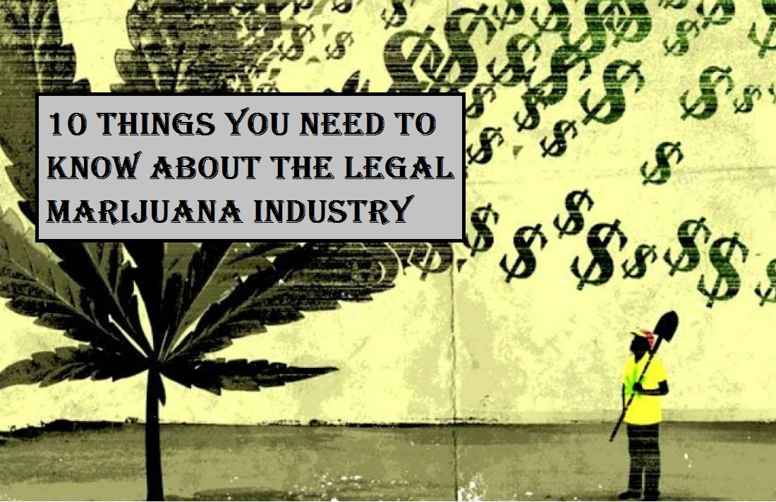 10 Things You Need to Know About the Legal Marijuana Industry