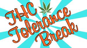 cannabis tolerance break