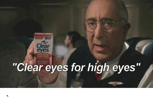 clear eyes for high red eyes