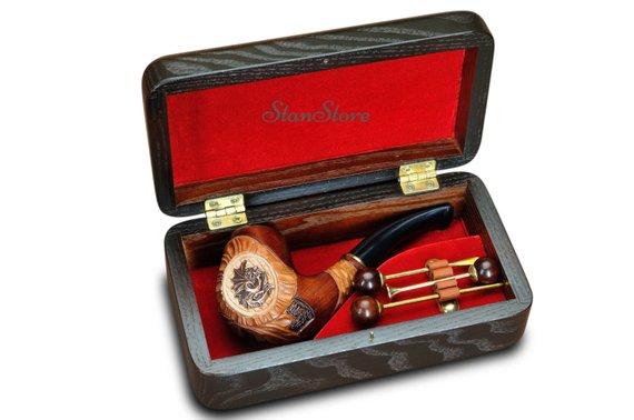 smoking pipe gift case box