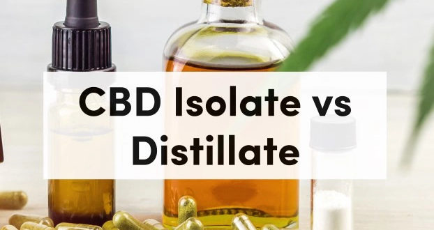 The Difference Between CBD Isolate And CBD Distillate
